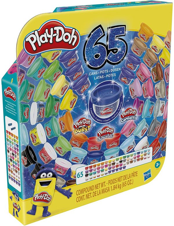 Playdoh 65 Cans Celebration Pack