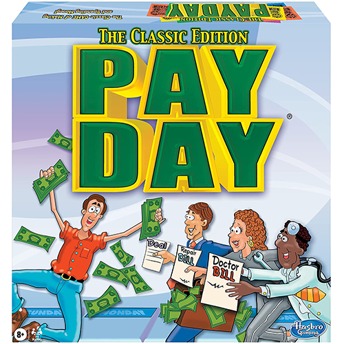 Pay Day Board Game From Winning Moves