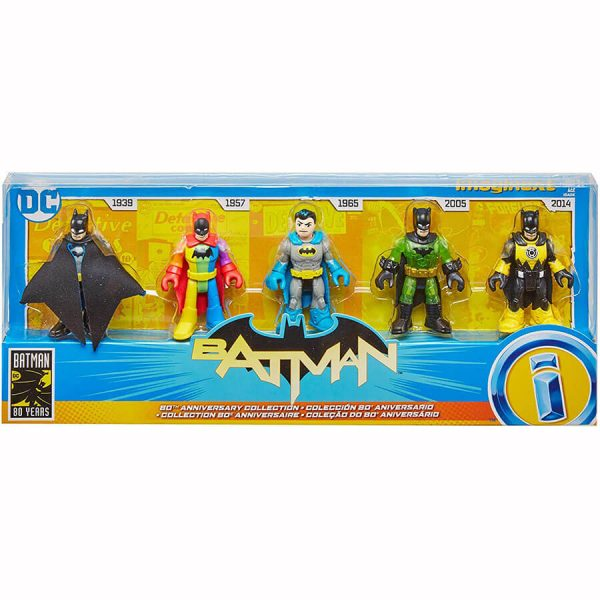 Fisher Price Imaginext Batman 80th Anniversary Collection Pack