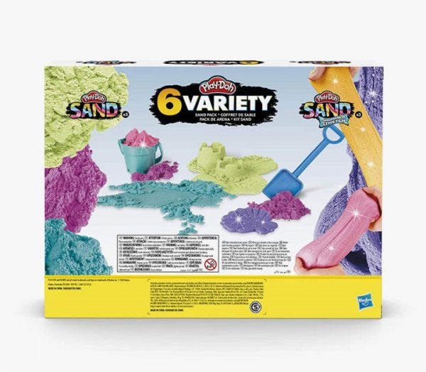 Play-Doh Sand and Shimmer Stretch Compounds