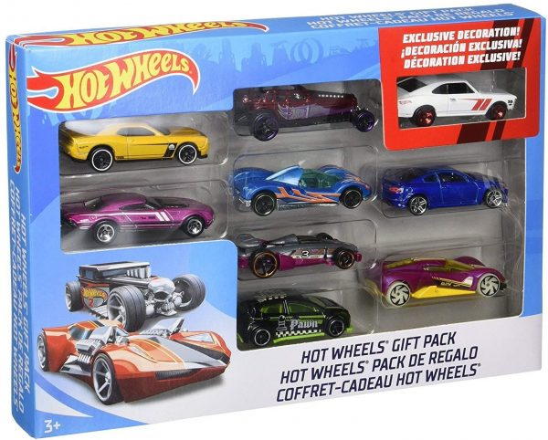 Hotwheels 9 Car Gift Pack (Styles May Vary)