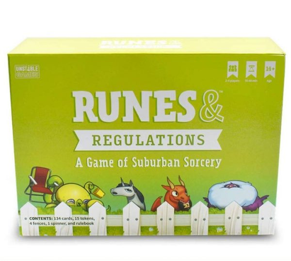Runes and Regulations - A Game of Suburban Sorcery