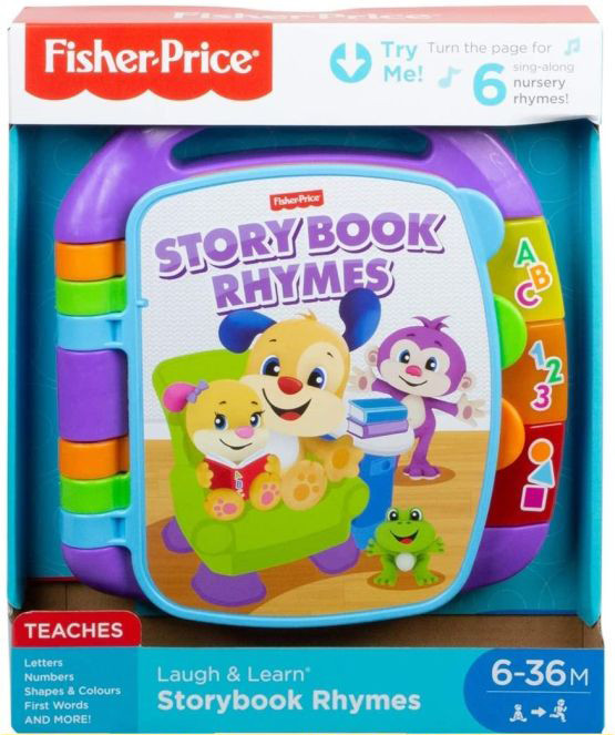 Fisher Price Laugh And Learn Rhymes Story Book