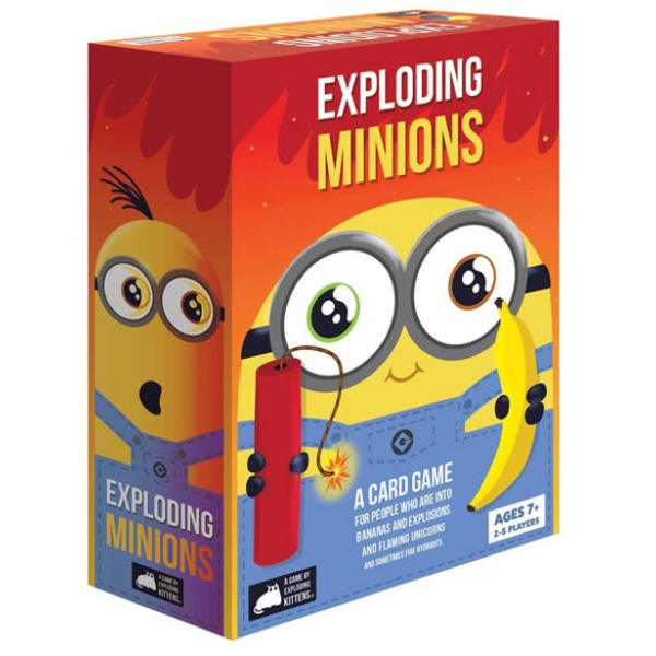 Exploding Minions Card Game